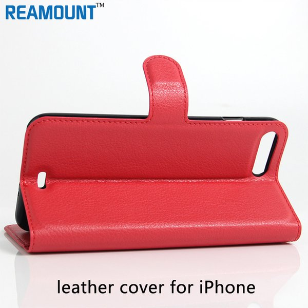 Wholesale Stand Design PU Leather Flip Card Holder Book Case for iPhone 7 6S Book Style Phone Case Cover for iPhone 6