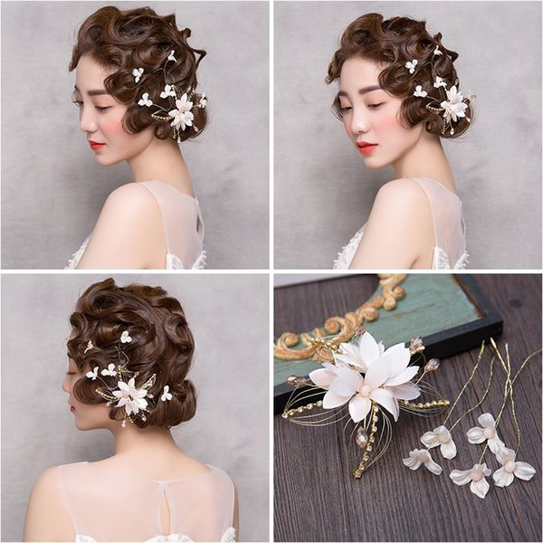 Frau Kopfschmuck Haar Frische Blumen Haarnadeln Ramon Studio Braut Hochzeit Kopfschmuck Haarnadel Clip Rand Haarschmuck 154300