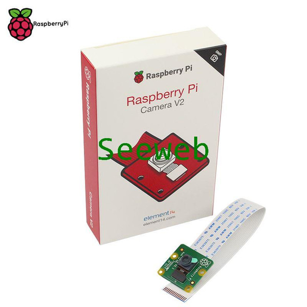 Freeshipping Original Official Raspberry Pi Camera V2 Module with Sony IMX219 Light-sensitive Chips 8MP Pixels 1080P Video RPI 3 Camera