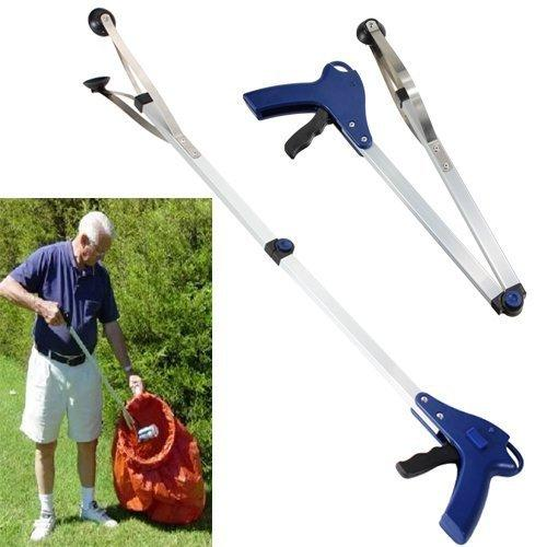 Foldable Gripper Pick Up Reaching Claw Long Arm Gripper Helping Hand Tool L6
