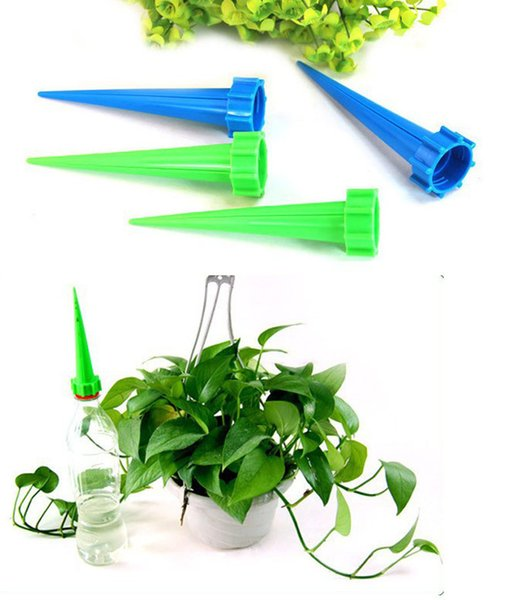 best selling 4pcs lot Garden Cone Watering Spike Plant Flower Waterers Bottle Irrigation System Watering Equipments