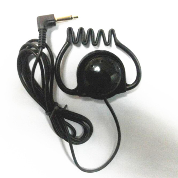 1 piece Soft Hook earphone stereo headphone single side earbud earphone for tourist guide travelling musuem