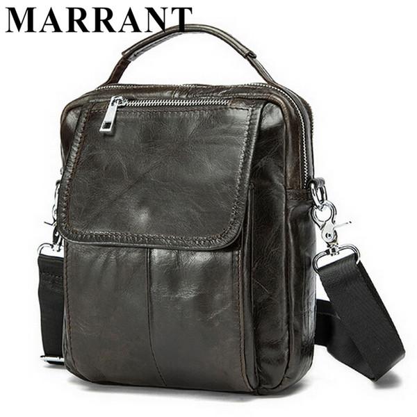 Wholesale-Genuine leather men bag small shoulder bags men messenger bags crossbody bag mens leather handbag Hot sale 2016 free shipping