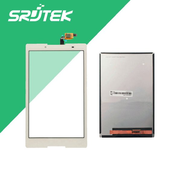 Wholesale- For Lenovo Tab 2 A8-50F A8-50LC A8-50 Touch Screen Digitizer+ LCD Display Parts Replace Panel 100% Tested