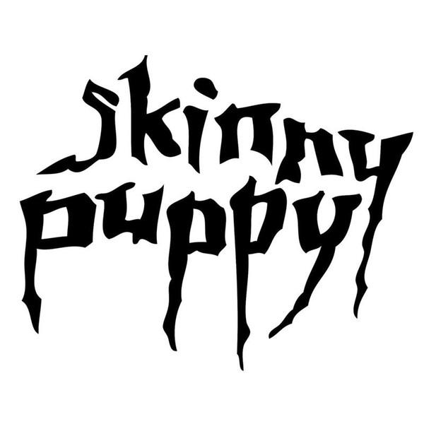 Skinny Puppy Funny JDM Etiqueta Engomada Del Coche Se Ajusta A La Ventana Del Carro Parachoques Fuel Tank Cap Auto Door Vinyl Decal