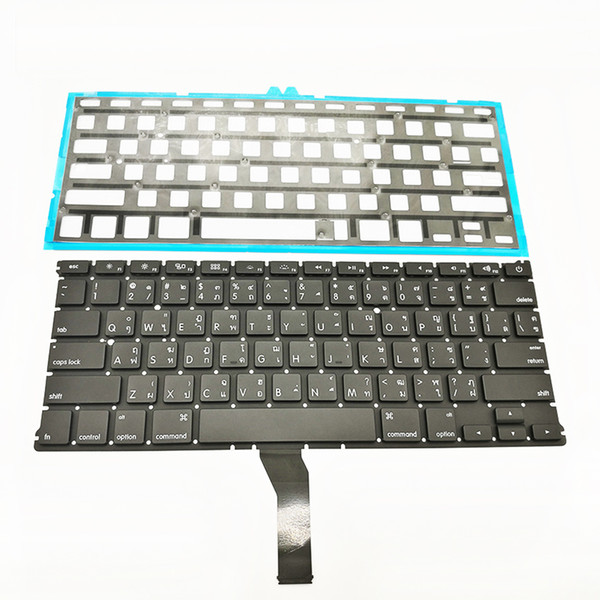 New A1369 A1466 Thai Thailand Keyboard For Apple Macbook Air 13'' A1369 A1466 Keyboard Thai Standard Replacement 2011-2015
