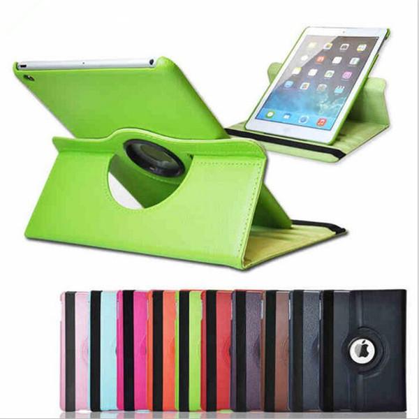 Étui en cuir PU pivotant à 360 degrés pour iPad Mini 1 2 3 4 5 6 9.7 12,9 pouces cas de support de support magnétique Smart Cover