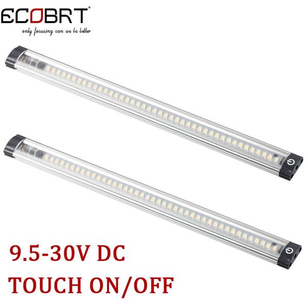Wholesale-30cm langes 9.5-30v 3w führte linearen Kabinettstreifen beleuchtet Note ein / aus Sensor im Kabinett, das CER RoHS 2pcs / lot beleuchtet