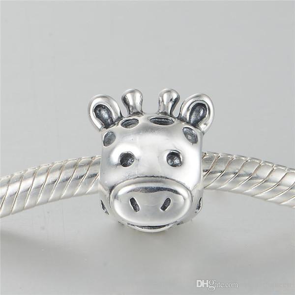 Animal Charms Perlen authentische S925 Sterling Silber passt für Pandora Style Armreif und Halskette versandkostenfrei LW612