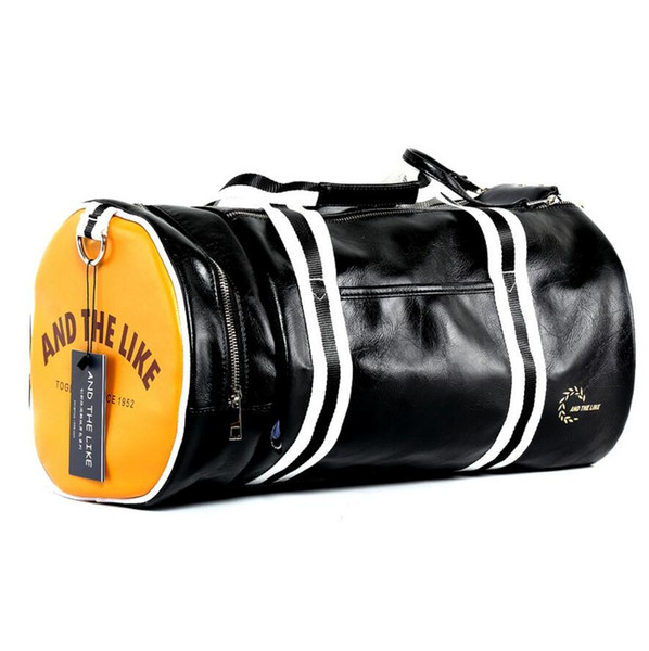 Special Offer New Outdoor Sports Bag High-Quality PVC Soft Leatherr Gym Fitness Bag Men Luggage Travel Duffel Bags