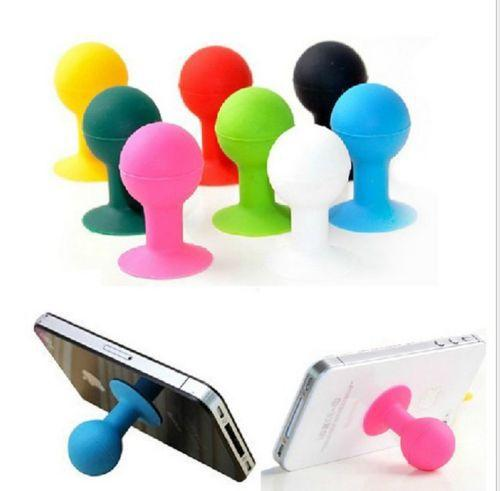 Cute Octopus Sucker Silicone Cell Phone Holder for Iphone Samsung HTC