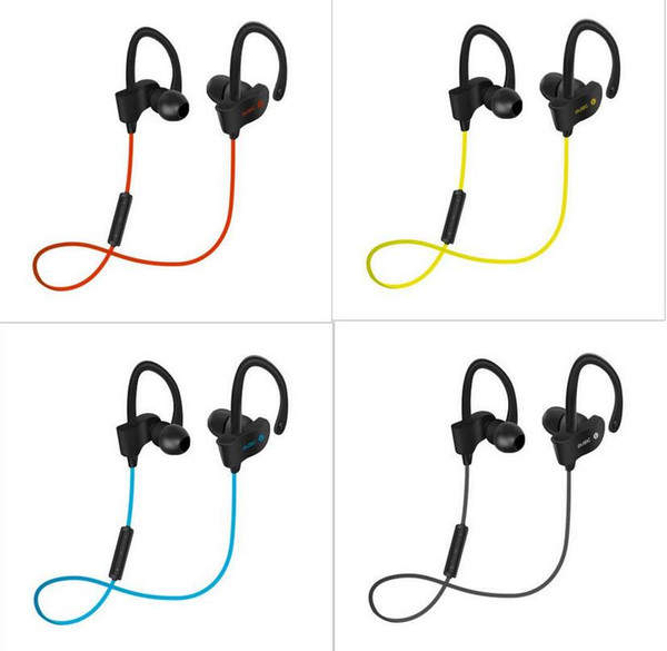 Professional Sports 4.1 bluetooth headphones Wireless Ear Hook Type Stereo Headset Clear Volume Microphone For Cell phone Jogging Travelling