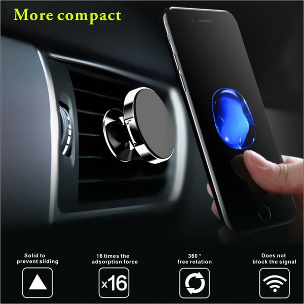 cebe2eed0 Soporte universal para coche de teléfono móvil, soporte para teléfono  magnético, soporte de teléfono