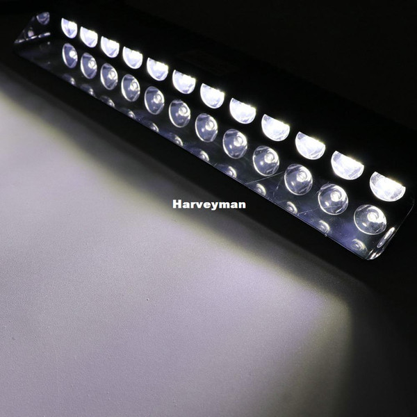 New 12 LED 36W Car Strobe Warning White Lightbar Fireman Policeman Flashing Boat Emergency Storbing Fire Flash Light Lamp