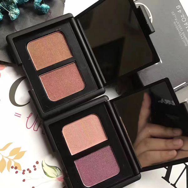 Famosa marca 2 cores DUO D'ombres Essentielles paleta de sombras COROURA / SURABAYA / Mediteranee / KUALA LUMPUR / ST-PAUL DE VENCE