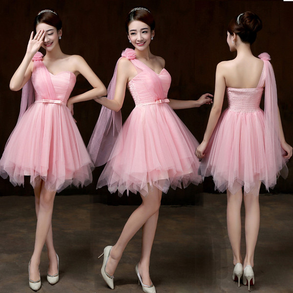 50172c3296 Cheap violet bridesmaid dresses short dress for wedding guests sister party  formal dress prom dresses Maid