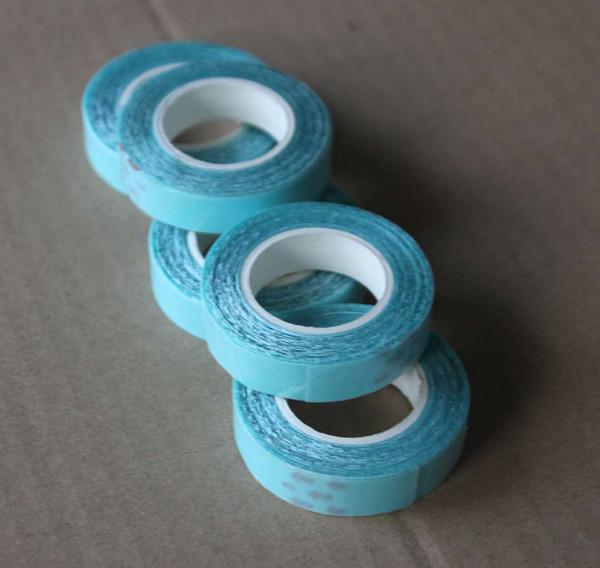 Nastro adesivo da 1 cm x 3 m sui lati per la colla per capelli