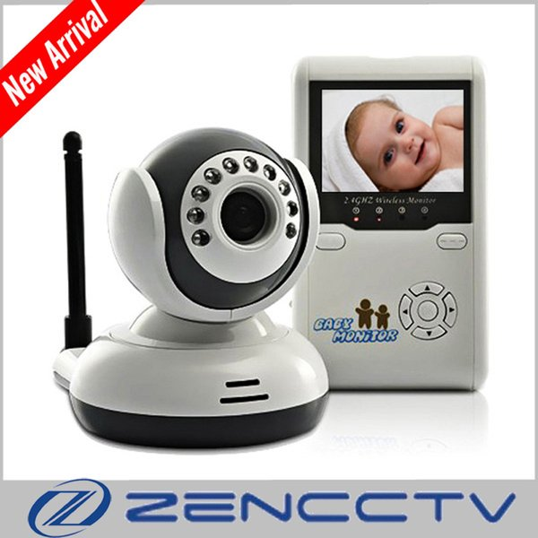 2.4 Inch LCD Wireless Digital Baby Monitor IR Video Audio Intercom Camera Night Vision Video Electronic Baby Monitors Home Security