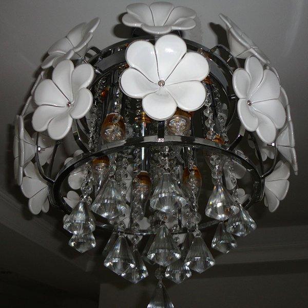 Neue LED Kristalllampen Deckenleuchte Lichterleuchten Wohnzimmerlampe Hngende Lichter 6pcs