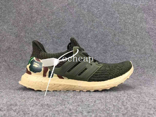 cheap for discount 49d76 6a8a8 Cheap Ultra Boost Custom Running Shoes Mens Ultra Boost 3.0 Custom Green  Sneakers For Sale Size 40 45 Trail Running Shoes Womens Running Shoes From  ...