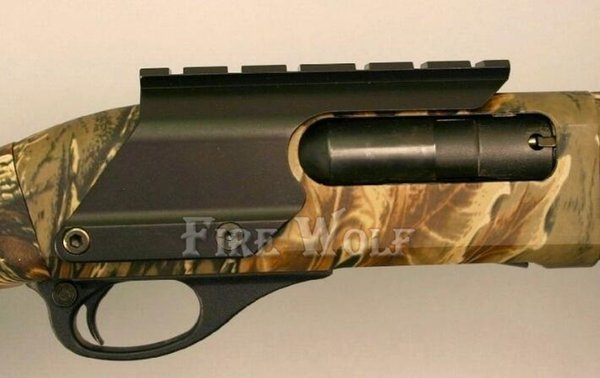 Remington 870 Picatinny Rail Saddle Scope Mount Shotgun  Hunting Black UK