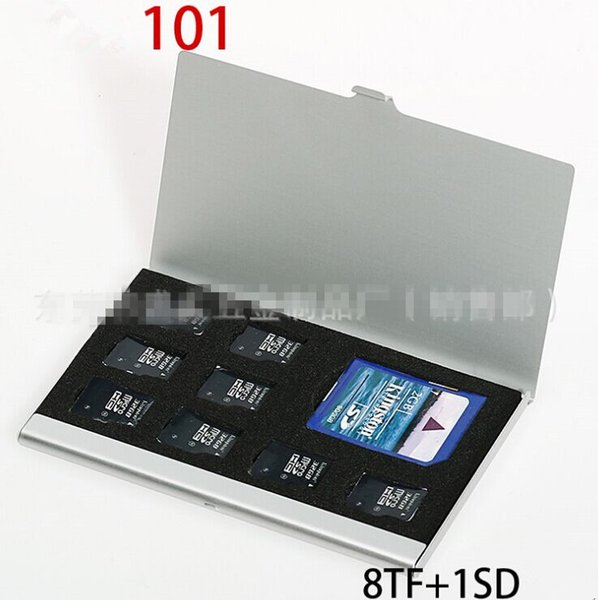 Thick SD TF SIM Card Box Wholesale High Quality Camera Memory Card Box Digital Storage Box Many Colors