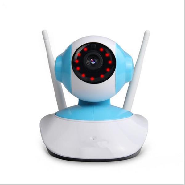 720P HD Cámara IP WIFI Wireless Onvif Cámara Seguridad Inicio Video Vigilancia 1MP Cámara de vigilancia PTZ IP Cam Night