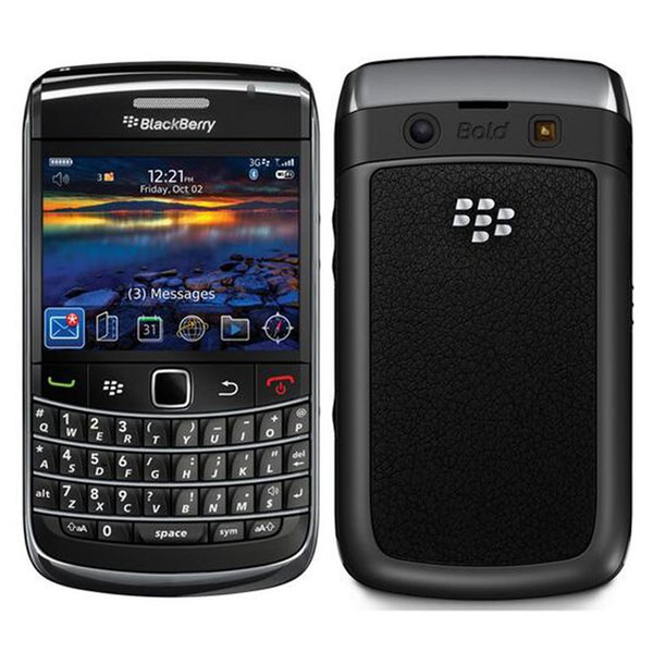 Refurbished Original Blackberry Bold 9700 Unlocked Mobile Phone 3G Smart Phone 2.44 inch 3.15MP Camera WIFI GPS Qwerty Keyboard DHL 5pcs
