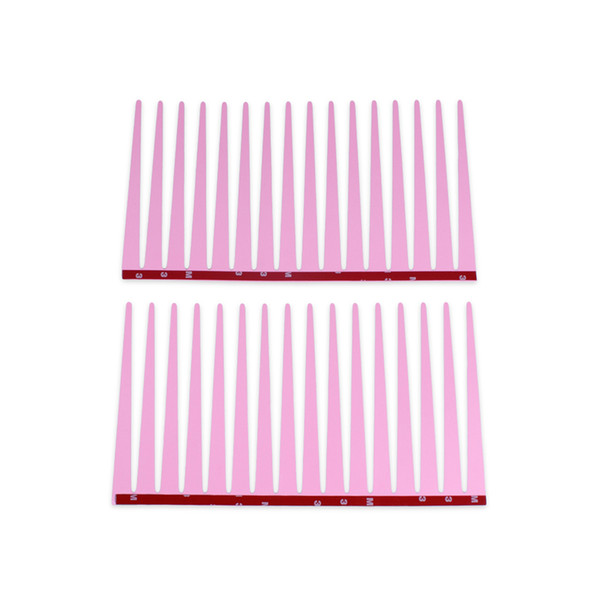 Pink Cute Car Eyelash Automotive Eyelashes Eyeliner 3D Car Logo Headlight Stickers Stereo 31 x 17cm 10Pairs/Lot Free Shipping