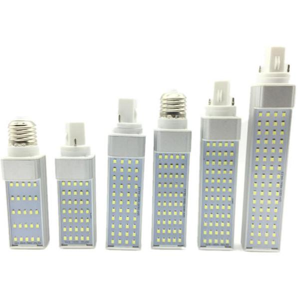 lampadina a led E27 G24 SMD 2835 lampada a led 180 gradi AC85-265V 5W 7W 9W 11W 13W 15W illuminazione a led