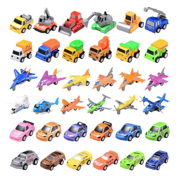 Factory wholesale toys back of the car car model suit a variety of inertia engineering PUZZLE GIFT