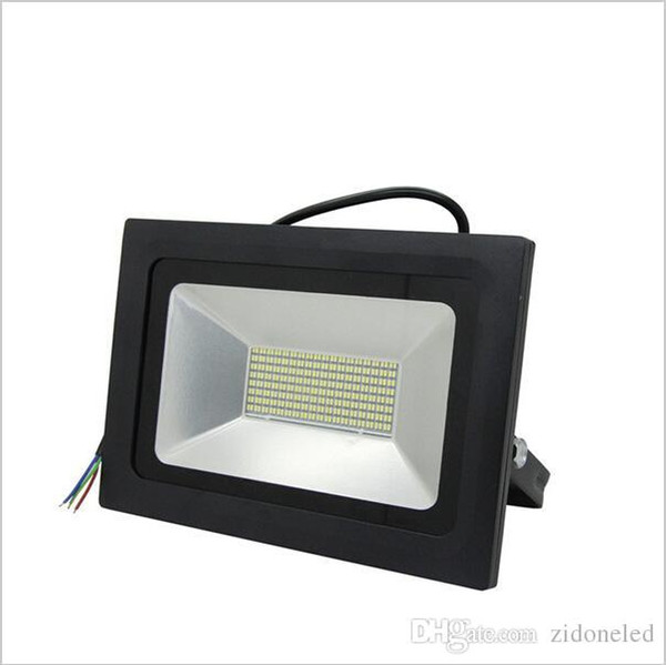 светодиодные прожекторы Прожектор Лампа Gardden Street Наружное освещение 15W / 30W / 60W / 100W / 150W / 200W Водонепроницаемый IP65 Отраженное ландшафтное освещение