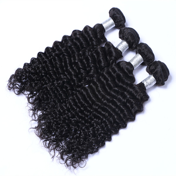 Wholesale High Quality Peruvian Deep Curly hair extension unprocessed human virgin hair weave Can Be Dyed Ombre Color Hair Free Shipping