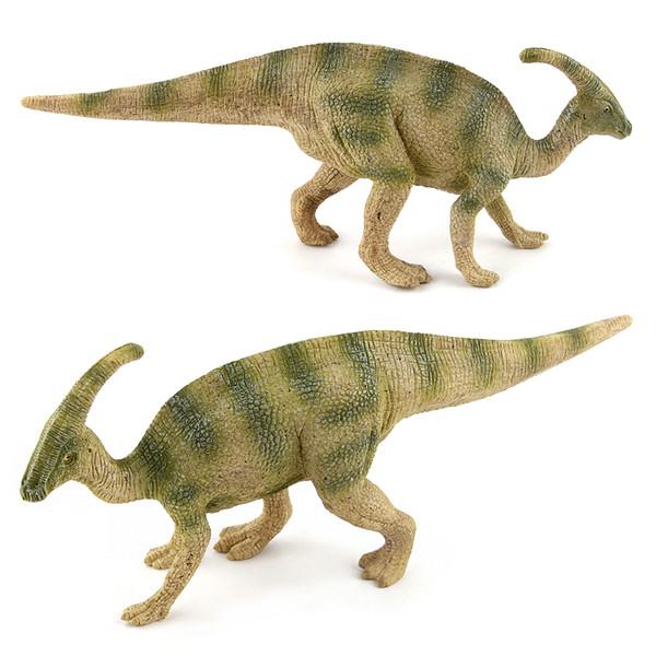 19.5x7.5cm Jurassic World giocattolo Parasaurolophus PVC Figure movie Kid Baby toy Regalo per bambini 2 colori XT