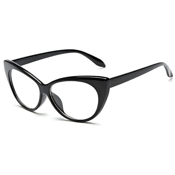 Black Frame Lens Clear