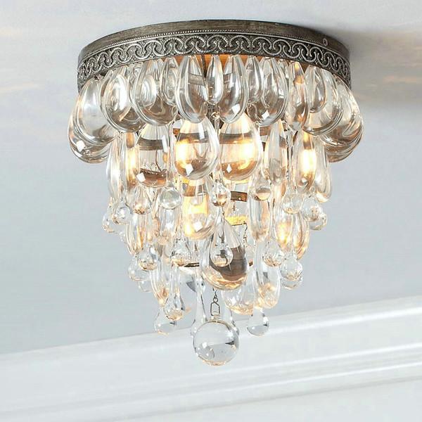 Moderner Glanz Führte Den Kristallleuchter, Der Industrielle  Art Entwurfs Lampenschirm Leuchter Für Küche Wohnzimmer Schlafzimmer  Beleuchtet