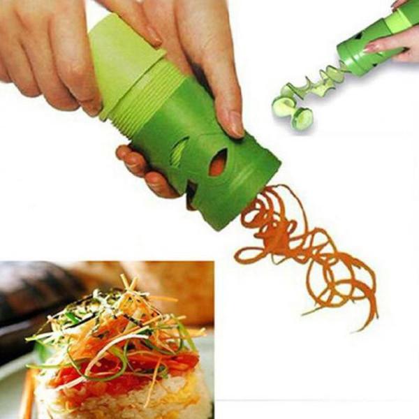 Fruit And Vegetable Slicing Spiral Slicer Radish Vegetable Spiralizer Carving Multifunctional Graters Kitchen Tools