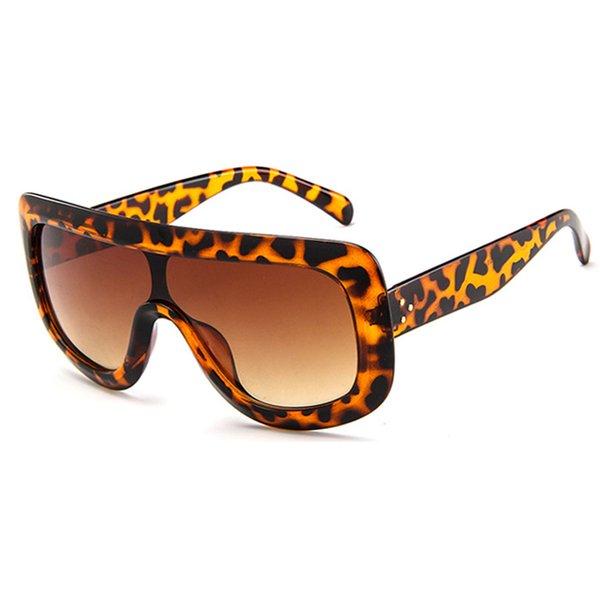 Leopard Cadre Brun Lens