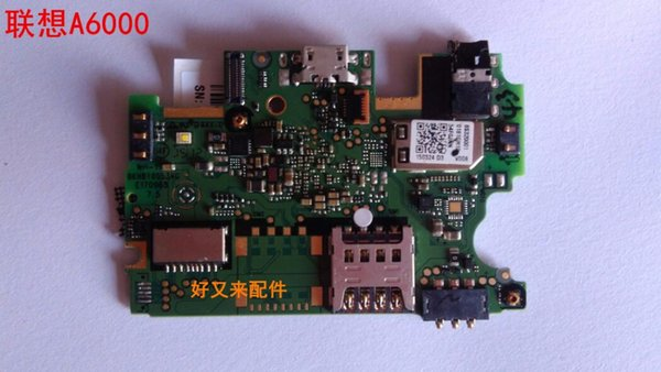 Unlocked used tested good work well lenovo a6000 motherboard mainboard board card fee chipsets one sim slots free shipping