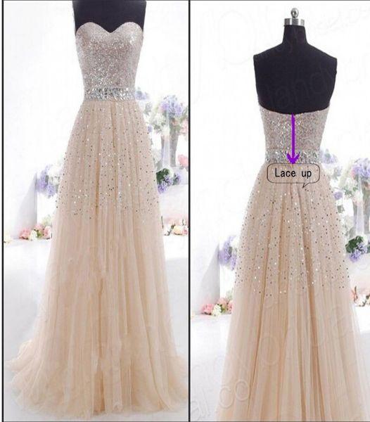 Envío gratis lentejuelas cóctel largo vestido de fiesta formal vestido de fiesta noche caliente nuevo vestido