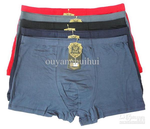 Новые мужчины 95%бамбуковое волокно боксер шорты мода трусы нижнее белье XL, XXL, XXXL, XXXXL 10 шт. / лот.