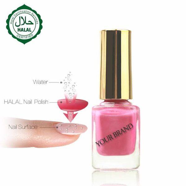 12pc halal nail poli h 48 color gel lacquer nail art beauty geli h breathable permeable nail poli h