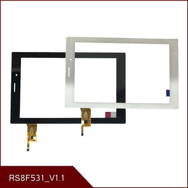 NEUER 8 '' Zoll des TEXET TM-8054 RS8F531_V1.1 PC-Touch Screen Panel Digitizer Glass Sensorersatz Freies Verschiffen