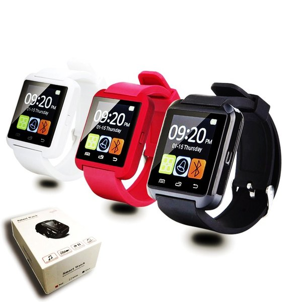 New Original U8 Bluetooth Smart Watch WristWatch U Watch for iOS iPhone Samsung Sony Huawei Android Phones Note Xiaomi