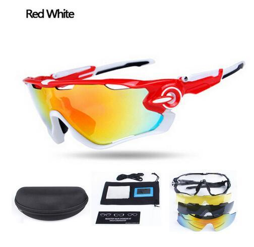 Quality Goggles Gafas Ciclismo Cycling Sunglasses New Outdoor Sport Bike Mtb Bicycle Glasses And Polarized Goggles Eyewear 5 lenses set