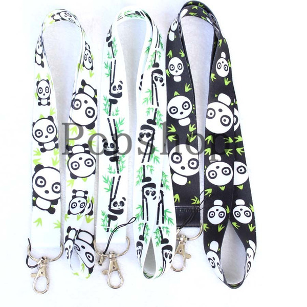 Hot Sale!Free Shipping 20 Pcs Some designs about pandas and frogs Mobile Phone Neck Straps Neck Strap Keys Camera ID Card Lanyard