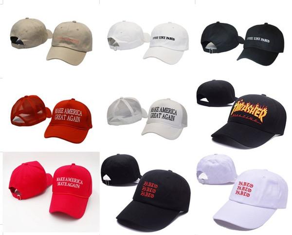 b9864c199e6 Black Khaki Popular CHANCE the rapper 3 Dad Hat Letter Embroidery Baseball  Cap Hip Hop Streetwear