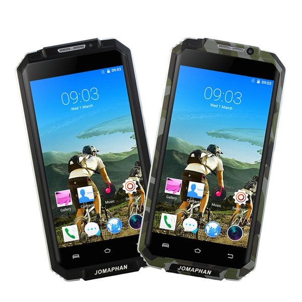 5.0Inch Original PX9 MT6580 Quad Core Screen Rugged Mobile Phone Android 5.1 Smartphone Cell Phone Shockproof 3G GPS Dual SIM Card Free Post
