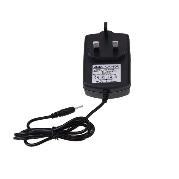 Wholesale- Universal UK Plug AC to DC 5V 3A 2.5*0.7mm Power Supply Charger Adapter for Windows Android Tablet PC 1M Cable