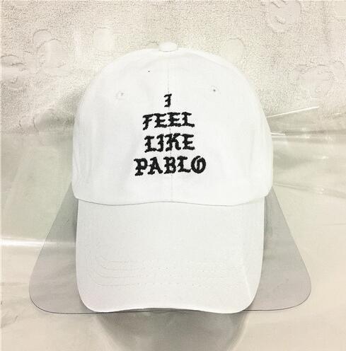 I Feel Like Pablo Hat Adjustable Hip Hop Baseball Cap Yeezus Black Snapback Caps Hats for men and women dad hat drake cap Best